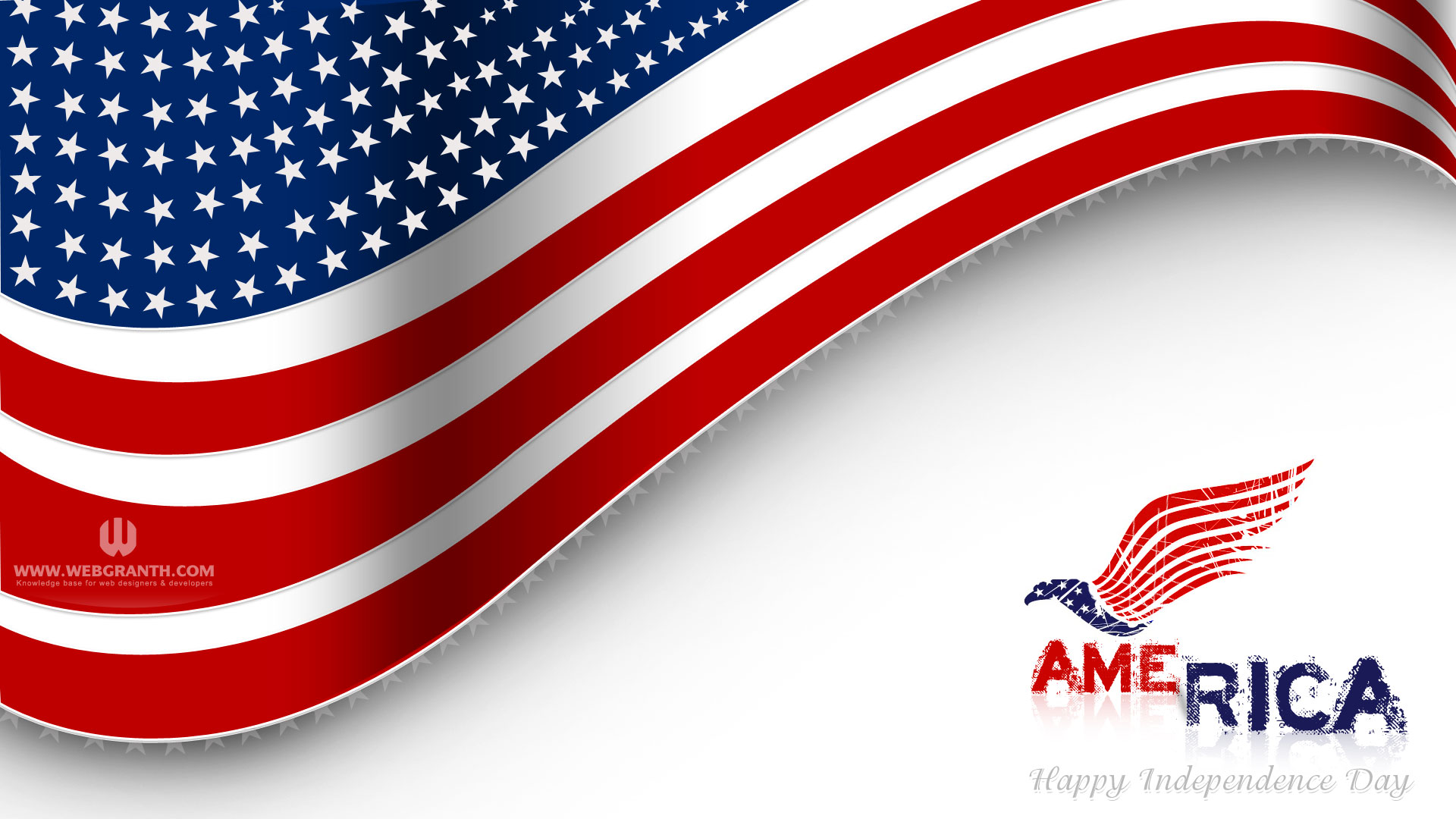 US Independence Day background image desktop wallpaper